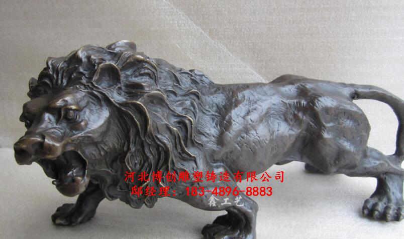 故宫铜狮子